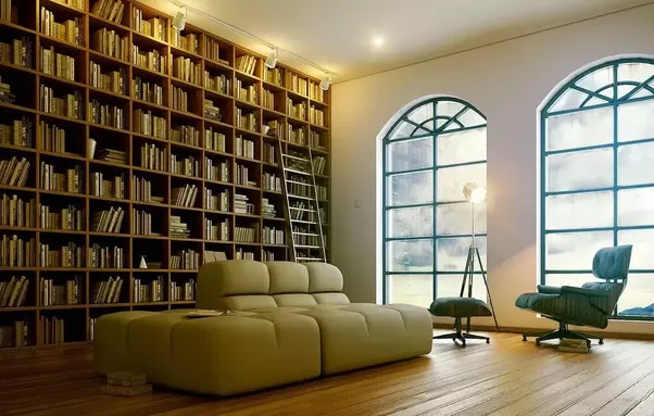 The House And Personality Of User Users Go Accordingly With Library Design Modern Interiors Have Cleanerstraighter Lines Plains