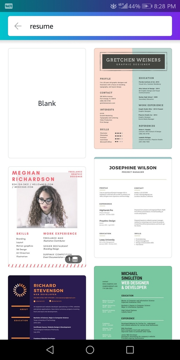 what is a good free resume builder