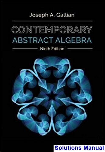 how to download contemporary abstract algebra 9th edition by joseph