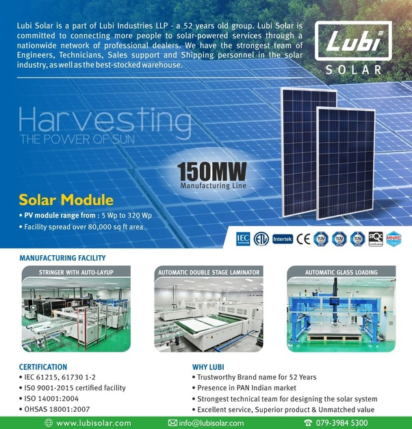 Which companies provide solar panel solutions in India? - Quora