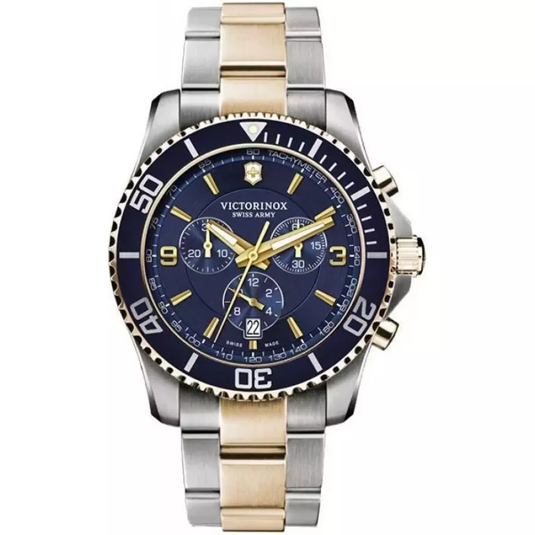 army watches with steel stainless maverick watch dial dp blue s inox swiss victor victorinox men bracelet