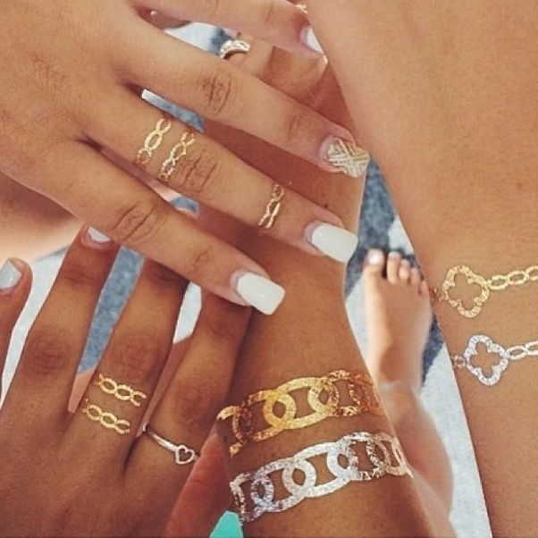 What is the closest thing to a metallic gold tattoo? - Quora