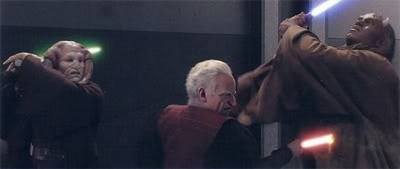In Terms Of Fight Quality Is Mace Windu Vs Sidious The Best Lightsaber Duel In All Of The Star Wars Films Quora
