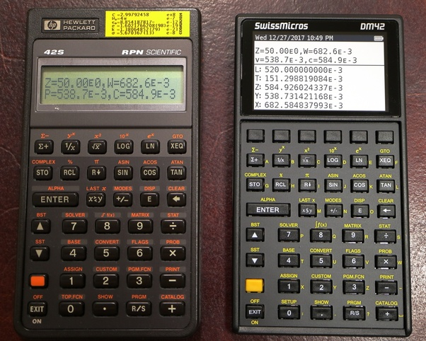 Are There Any Scientific Calculators Not From Hp That Have Reverse Polish Notation Capabilities Quora