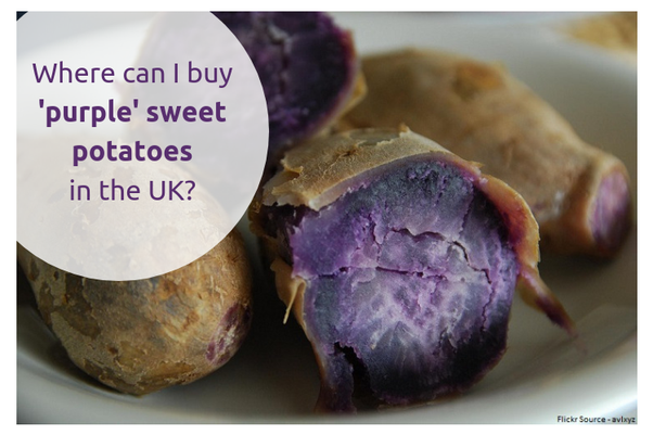 Where can I buy 'purple' sweet potatoes in the UK? - Quora