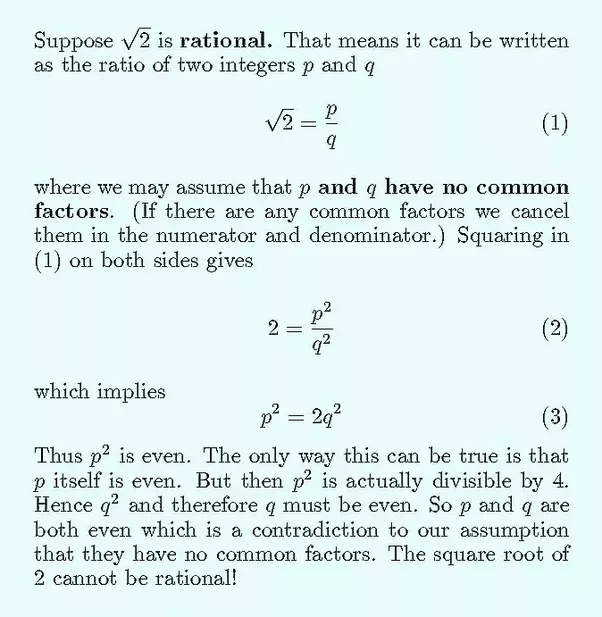 How to prove that the square root of 3 exists - Quora
