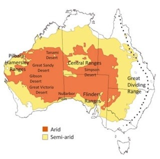 have a look at a map of australia