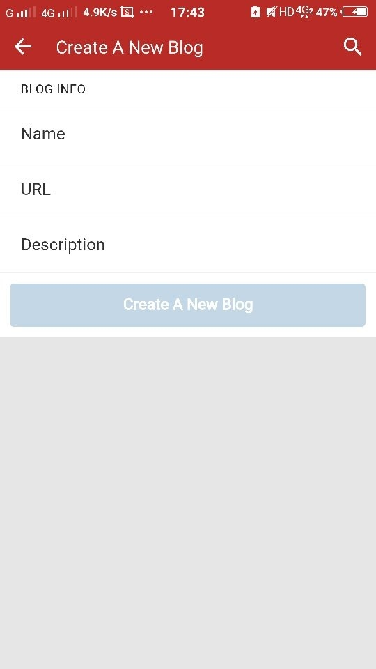 How to create a blog on quora quora click on the create a new blog this page will appear after clicking on create a new blog fandeluxe Images