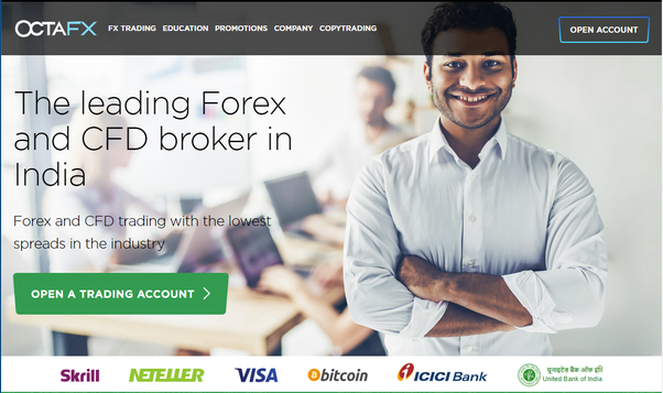 Why we call OCTAFX is better Forex Broker broker in India and Pakistan?