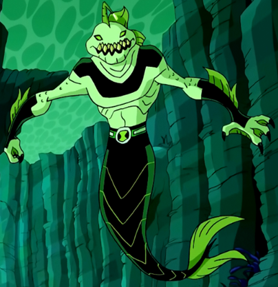 Why Didnt Ripjaws Swim Like A Human In Ben 10