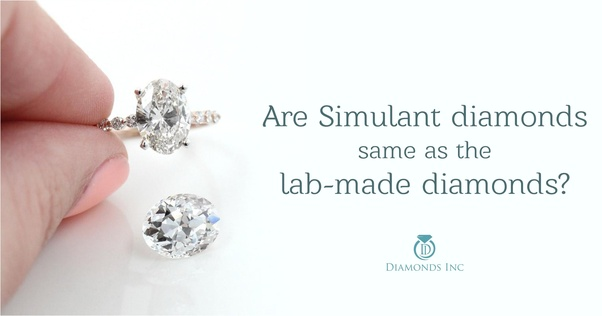 What Is The Best Man Made Diamond Or Diamond Simulant Quora