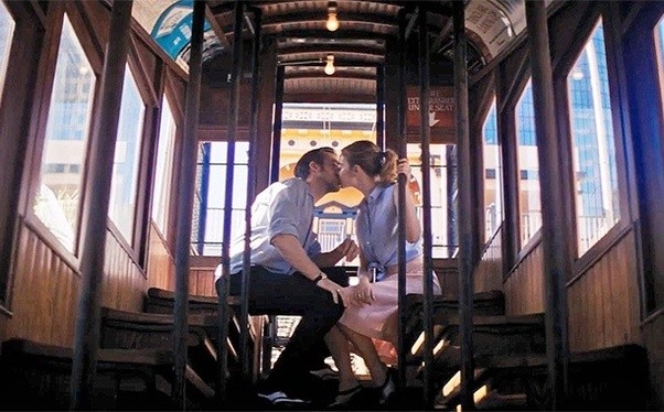 Image result for la la land dating montage
