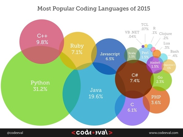 Which of the programming languages has the best scope in the