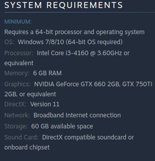 What is the game size of Tekken 7 Steam PC? - Quora