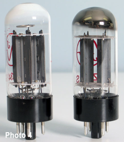 What part of a vacuum tube in an amplifier wears out and how does it