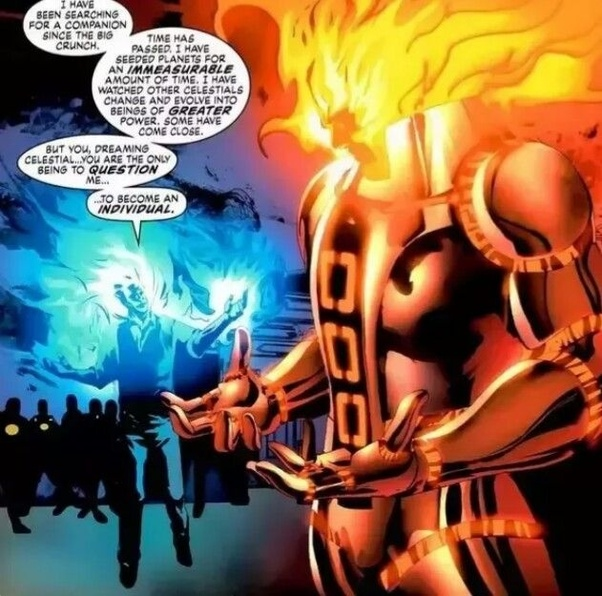 Who is the Fulcrum in Marvel and how does he rank in the cosmic heierachy? - Quora