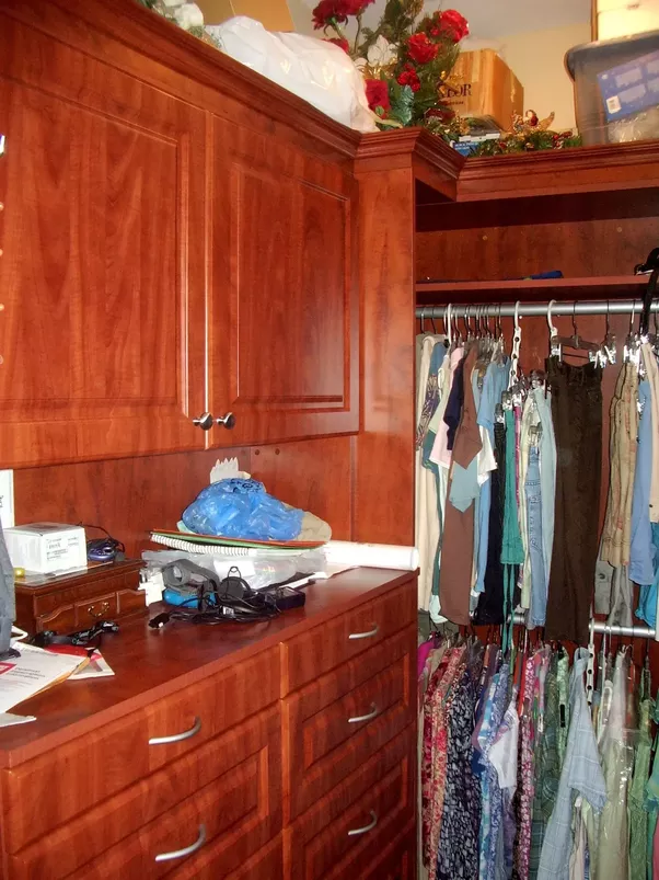 That Being Said, There Is No Doubt That A Solid Wood Wardrobe Or Build Out  Of A Walk In Closet Would Definitely Be More Appealing. Photo Shows Fully  Custom, ...