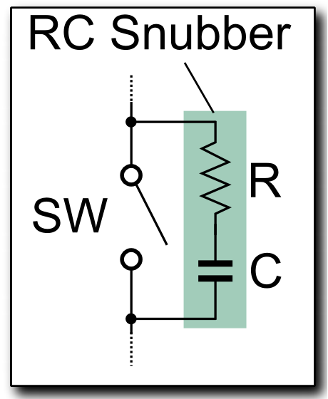 How To Pick The R And C Values Of A Rc Snubber What Are