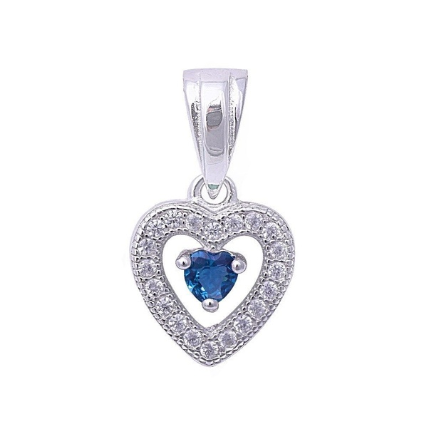 Where can i buy swarovski elegant blue heart pendant for women quora see their collection of cz pendants and i am sure you will find what you are looking for aloadofball Images