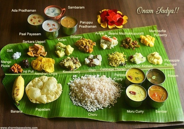 The right way is to it on the banana leaf along with some small lime pickle. & What are the typical food items served on a banana leaf in the ...