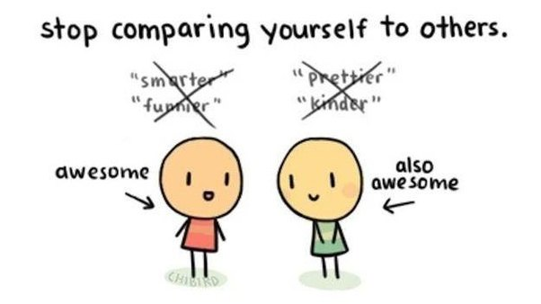 How To Stop Comparing Myself Others