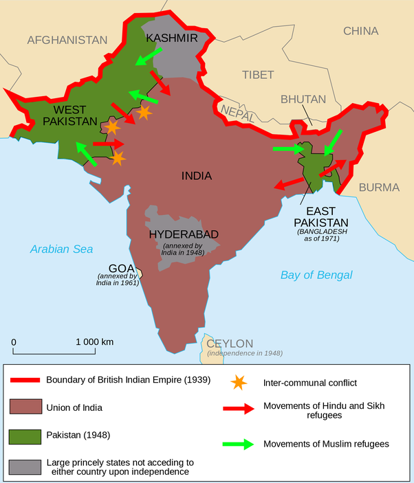 What would have happened in india if it hadnt been partitioned in the decision being made for or against the partition of india would in 58 years control the lives of the billion and a quarter people of south asia and publicscrutiny Image collections