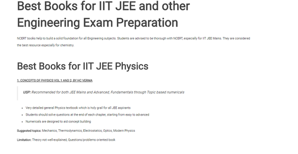 Which book should I buy for IIT JEE? - Quora