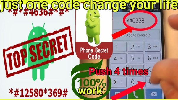 What are some secret codes of phone? - Quora