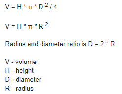 How to calculate the storage capacity of a tank in liters - Quora