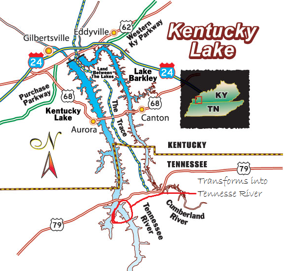 Where is Kentucky Lake Quora