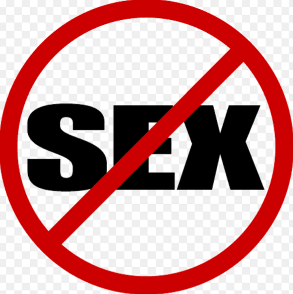 Is it bad to never have sex