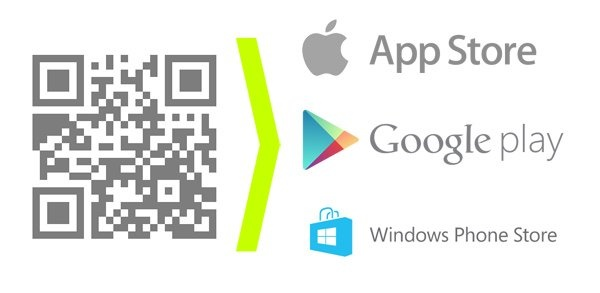 How to create a single QR code for an app download for both iOS and