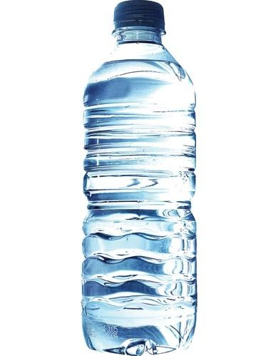 what is the bottle of water made of basically and mechanically