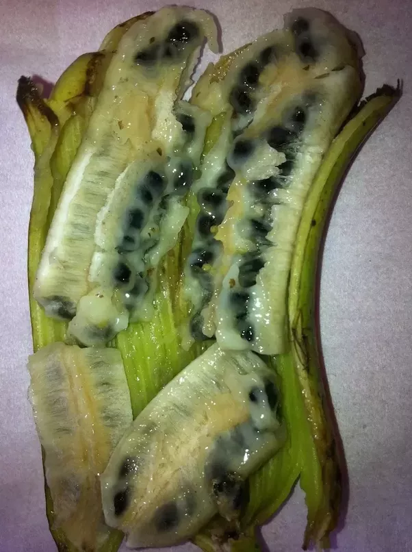 I Ve Eaten A Piece Of This Strange Banana From Colombia