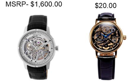 b1362edcd Just because a watch has an inflated MSRP does not mean the sale price  represents a bargain. There is no guarantee that the brand will last.