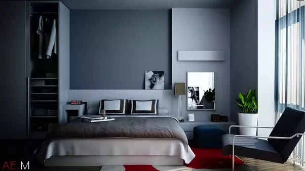 how to make your bedroom look bigger