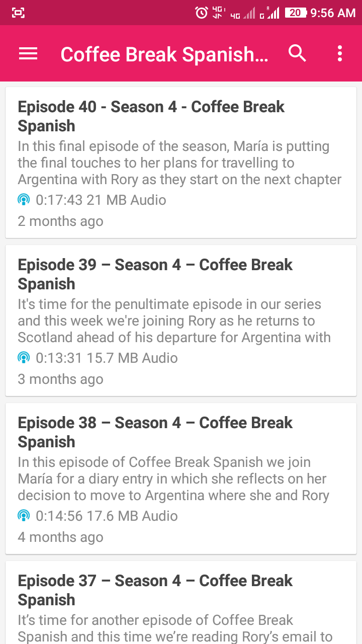 Is there a simple podcast/audiobook app for Android and