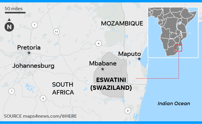 Where is eSwatini? - Quora