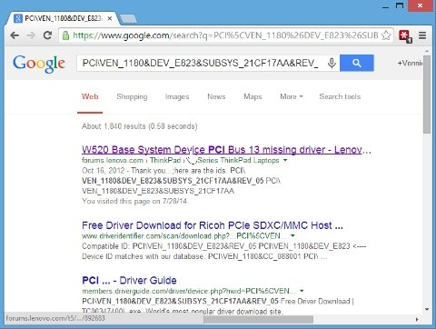 What is the best way to find missing drivers for Windows 8 1