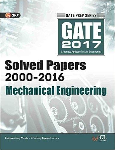 What is the best book to prepare for gateies for fluid mechanics buy gate paper mechanical engineering 2017 solved papers 2000 2016 book online at low prices in india fandeluxe Choice Image