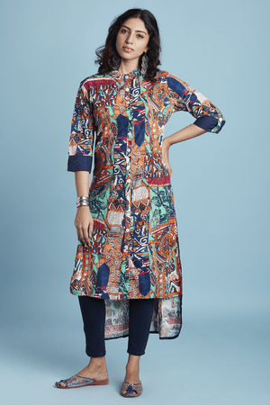 Long Tops Like Maxi Denim Tunic Shirts Loose Traditional Kurta Top Sleeve Topany More Styles Are Available In