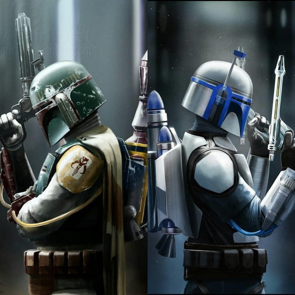 What are the visual differences between Boba and Jango Fett's armor? - Quora