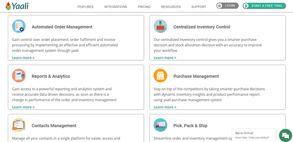 How to manage inventories in a startup of an online business? Is