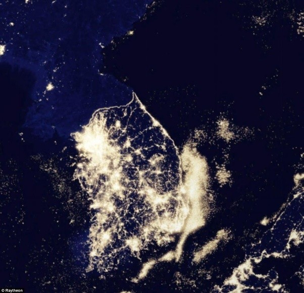 What Are Some Of The Best Satellite Pictures Taken At Night Quora - Best satellite images