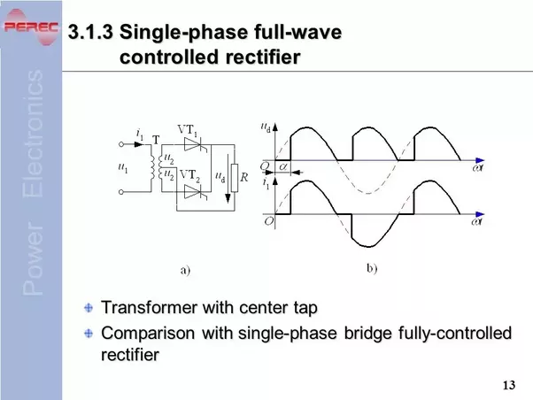 single phase uncontrolled half wave rec Uncontrolled rectifiers, half controlled rectifiers, fully controlled rectifiers rectifier types single phase, three phase rectifiers power electronics a to z.
