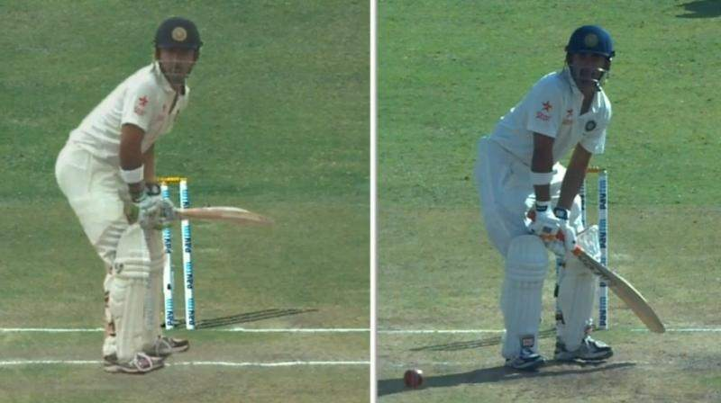 open chested stance in cricket