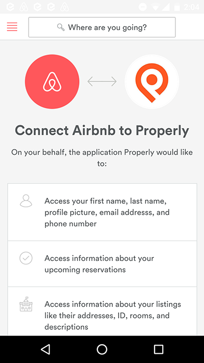 how to use airbnb api