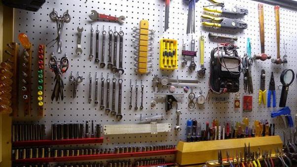 How to organize my garage for parking car, maker projects, and home How To Organize My Garage on ways to organize a garage, remodel my garage, clean my garage, organizing my garage, super organize your garage,