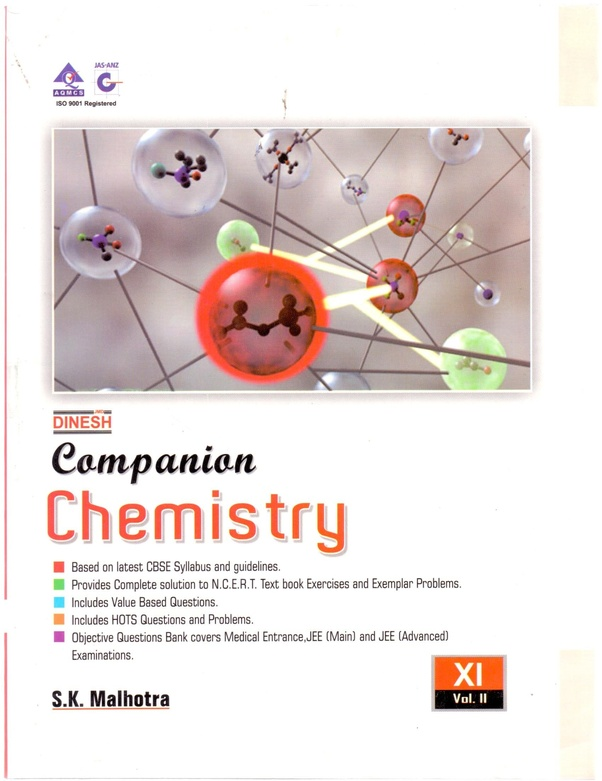 What is the best book for chemistry for class 11? - Quora