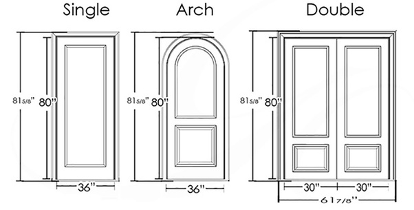 Interior Doors Have The Following Sizes